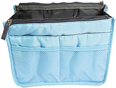 化粧品収納袋 レディース化粧バッグ トラベルポーチ ダブルジッパーバッグ 防水 折りたたみ式 大容量 多機能 アウトドア 旅行用