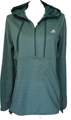 Ladies 1/4 Zip Sweatshirt - 6