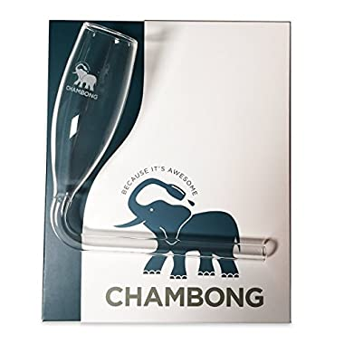 Chambong - Glassware for rapid Champagne consumption