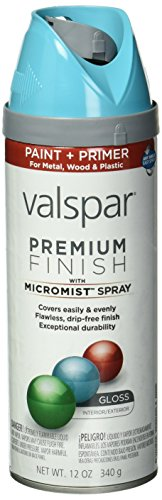 Valspar 410-85201 SP Brand 12 oz Exotic Sea Gloss Premium En