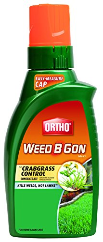 Ortho Weed B Gon Concentrate Max Weed Killer for Lawns Plus Crabgrass Control (Case of 12), 32 (B-gon Max Concentrate)