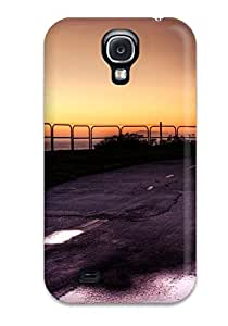 Hot Fashion Design Case Cover For Galaxy S4 Protective Case (beach Path) 3674998K16472826