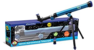Discovery Kids 40mm Astronomical Telescope STEM Activity