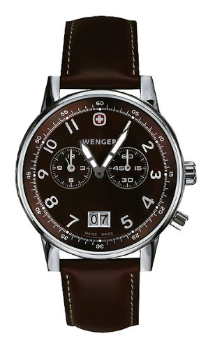 WENGER - Men's Watches - Commando City Dual Time - Ref. 74714