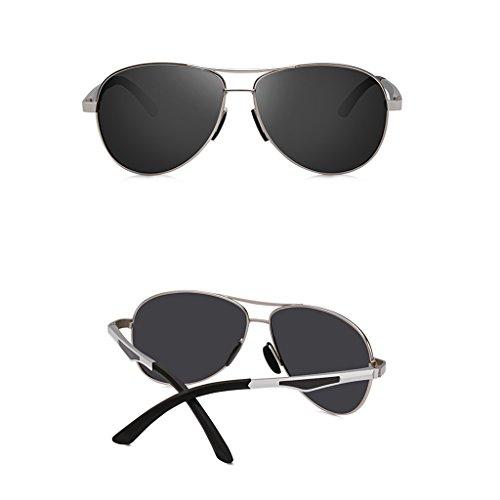 eda85a8715 El servicio durable Taiyangjing HAIYING Gafas De Sol Para Hombre Aviator  Gafas De Sol Polarizadas De Gran Tamaño De Gran Angular UV400 Para Conducir  ...