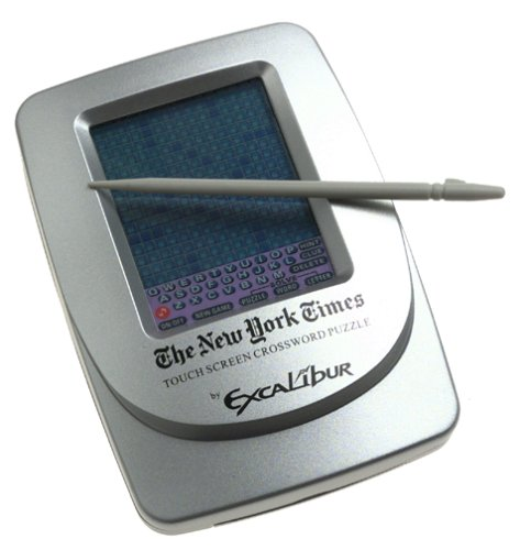 (Excalibur NY Times Touch-Screen Crossword Puzzle)