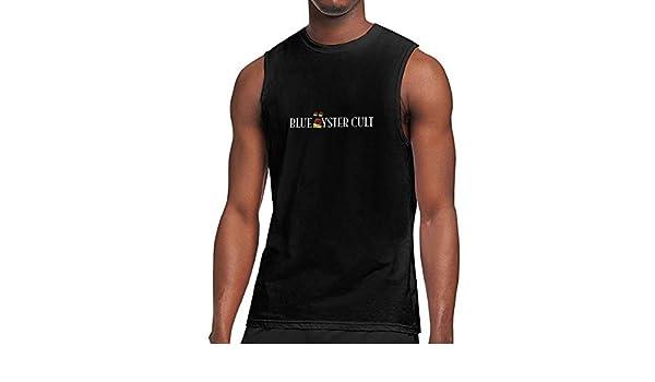 Blue Oyster Cult Mens Regular Sleeveless No Pocket Vest