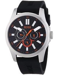Boss Orange 1512933 Mens Black H-7000 Chronograph Watch Overview