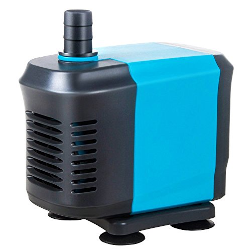 KEDSUM 550GPH Submersible Pump(2500L/H,40W), Ultra Quiet Water Pump with 6.5ft High Lift, Fountain Pump with 4.2ft Power Cord, 3 Nozzles for Fish Tank , Pond , Aquarium, Statuary, Hydroponics