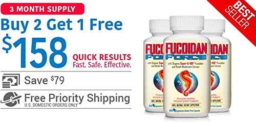 FUCOIDAN FORCE® by Nature's BioScience®- 3 Pack