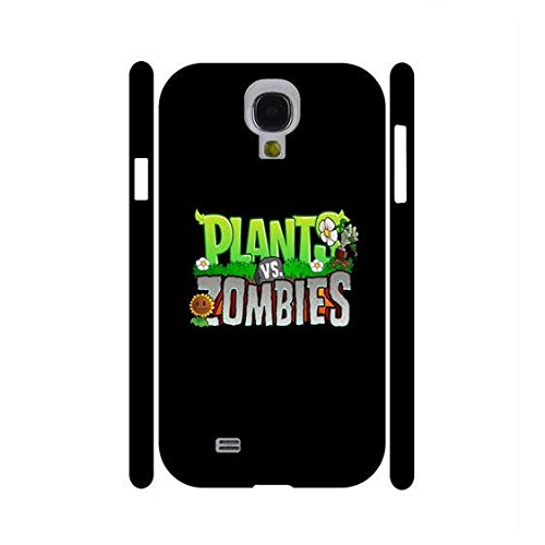 Slim Case for Samsung Galaxy S4 I9500 Mystical Plants VS covid 19 (Plants Zombies Pattern coronavirus)