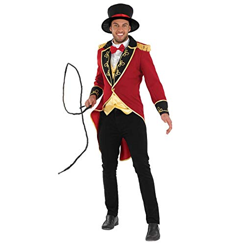 Ringmaster Mens Costume (fun shack Mens Circus Ringmaster Uniform,)