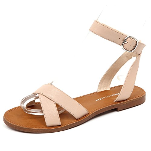 without Donna D5360 Rosa Rose Sandalo Woman Shoe Windsor Box Smith XE7qwS