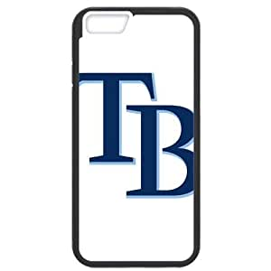 MLB iPhone6 Black Tampa Bay Devil Rays cell phone cases&Gift Holiday&Christmas Gifts NBGH6C9124661