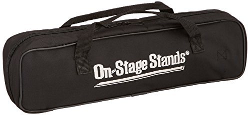 On-Stage DSB6500 Two-Pocket Drum Stick Bag, Black