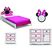 Minnie Mouse 4-Piece Twin Bedroom Set