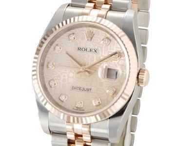 sale retailer 6fe73 ae3e0 Amazon|[ロレックス]Rolex デイトジャスト メンズ 116231G-PKC ...