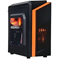 Centaurus Hunter Gaming Computer - AMD Ryzen 5 1300X 3.5GHz Quad, 8GB RAM DDR4, Radeon RX 560, 1TB SSHD Hybrid, Windows 10 PRO, WiFi. Affordable Fast Gaming PC