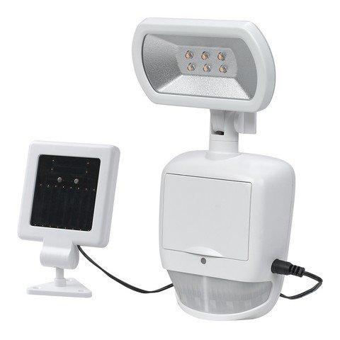 Maximus 180 Degree Solar Outdoor Led White Motion Security Light