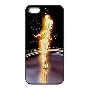 [bestdisigncase] For Apple Iphone 5 5S -Tinker Bell Pattern Design PHONE CASE 15
