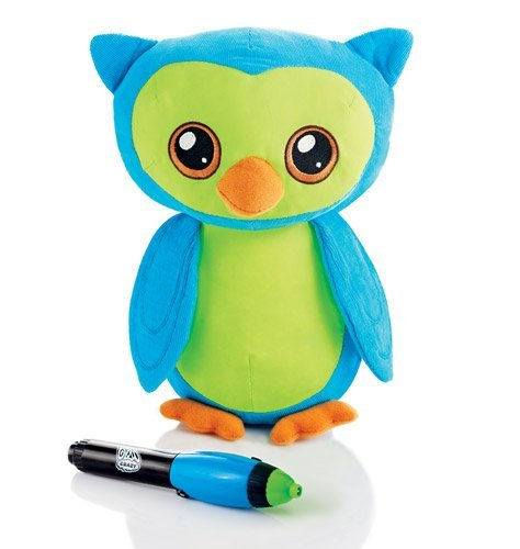 Avon Owl (Glow Pal Plush - Owl with LED pen - glow in the dark messages)