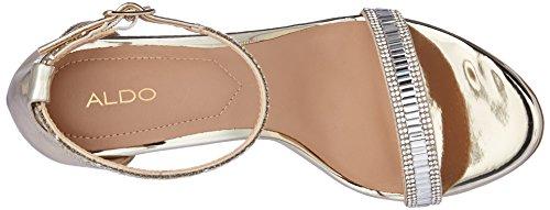 B Women Aldo Dress Sandal Gold US 10 Sevoredia w4qqaBdn7Y