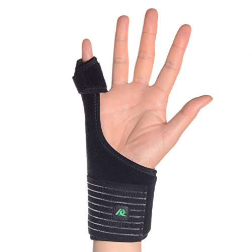 Kangda Trigger Finger Splint for Mallet Thumb Index Middle Ring Pinky Finger Medical Hand Brace Fracture Wound Extension Arthritis Knuckle Joint Pain Relief Adjustable Universal ()