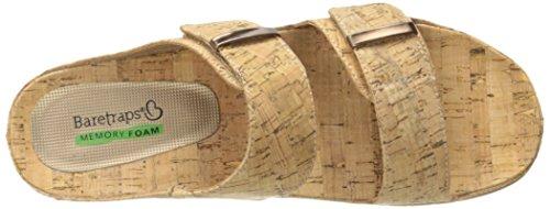 Sandalo Per Diapositive Da Donna Con Ciniglia In Barattolo Naturale