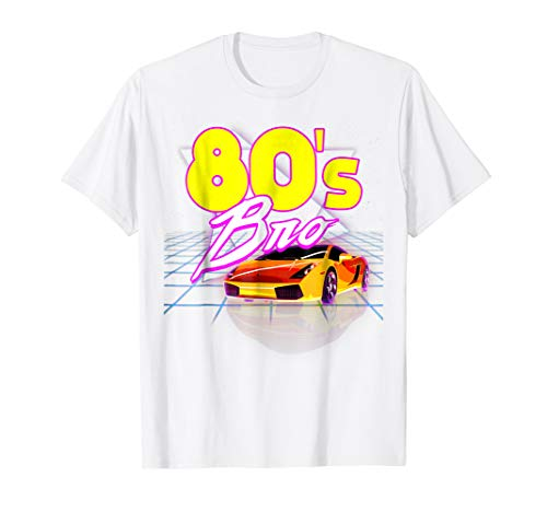 This Is My 80s Bro - Vintage Retro Style T-shirt