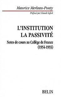 Notes de cours au Collège de France, 1954-1955 par Maurice Merleau-Ponty