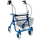 Sammons Preston Wheeled Walker with Basket