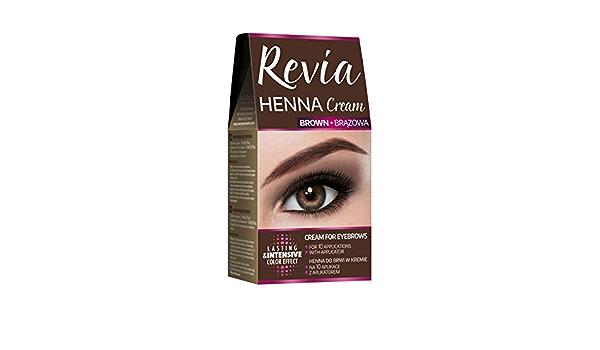 Verona Revia Henna Cream for Eyebrows Brown 2 x 15ml