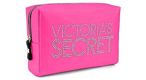 Victoria Secret Studded HOT Pink Makeup Bag