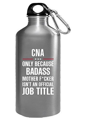Gift For Badass Cna - Water Bottle ()