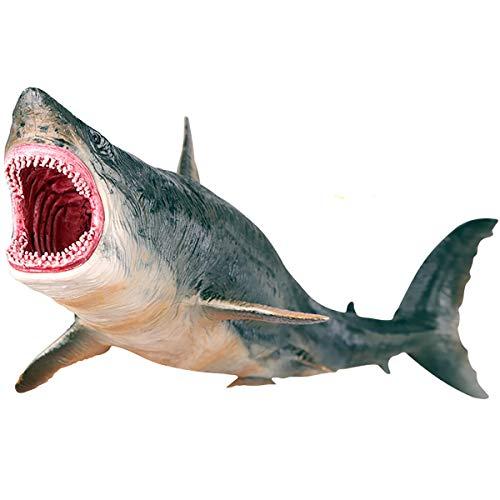 (Kolobok - Sea Safari Animals Action Figures - Megalodon Shark - Zoo Animals Educational Toys)