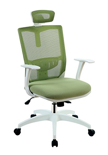 HOMES: Inside + Out IDF-FC641GR Lijon Mesh Office Chair