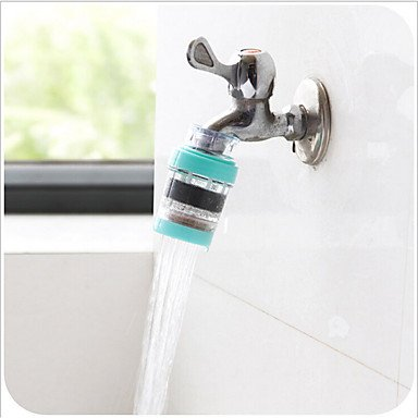 ZHENG Stone Kitchen Household Tap Water Magnetizing Filter - Cleaner Cyan