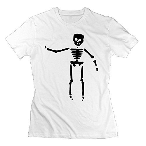 Huangxiaomei Women's Skull T-Shirt ()