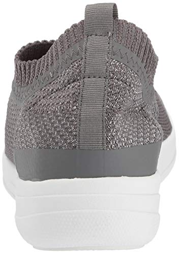 Pewter Slip Hautes Sneakers 551 Multicolour Uberknit Fitflop Baskets Femme on metallic metallic charcoal gPYqqw5