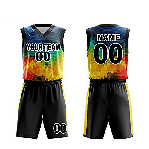 44d89867e Custom Basketball Jerseys Set for Men Sportswear- Make Team Uniform Print  Team Name