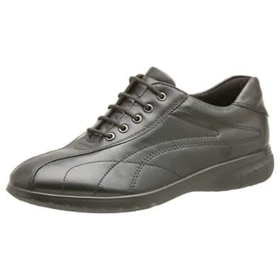 ECCO Women's Fresh Lace Up Sneaker,Black,40 EU (US Women's 9-9.5 M)