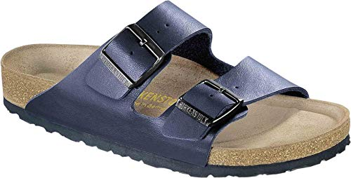 (Birkenstock Unisex Arizona Blue Sandals - 9-9.5 B(M) US Women/7-7.5 D(M) US Men)