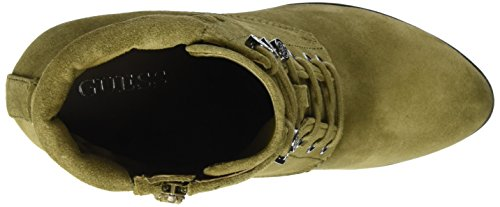 Guess Women's Lace-up Boots Olive cMgpIaT