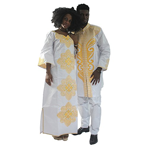 Matching Womens Costumes - HD Bazin Riche Clothing, African Traditional
