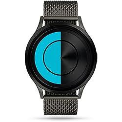 ZIIIRO Lunar Unisex Watches Gunmetal Ocean