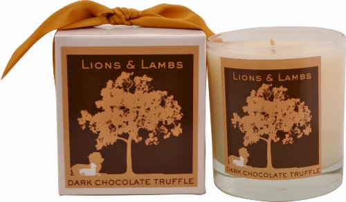 Aroma Paws Lions and Lambs Candle, 12-Ounce, Dark Chocolate Truffle