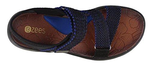 Bzees Womens Jive Sport Sandal Blue MSjWR