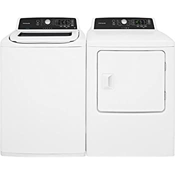 Amazon Com Frigidaire White Top Load Laundry Pair With