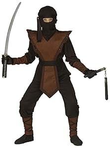 WIDMANN Disfraz de guerrero ninja, de talla 11/13 años ...