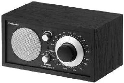 Tivoli MODEL ONE BT Noir//Noir//Argent m1bt-1384/euam//Radio FM avec Bluetooth